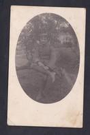Carte Photo Guerre 14-18 Portrait Et Correspondance De Felix Archen Militaire à Ses Parents à Marange Silvange - Otros Municipios