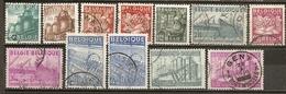Belgique Belgium 1948 Industry And Agriculture Set Complete Obl - Belgium
