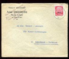 Enveloppe Commerciale De Rothau Pour Schirmeck Vorbruck En 1941 - N119 - Marcofilia (sobres)