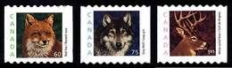 Canada (Scott No.1879-81 - Medium Value Wildlife Definitive) [**] Set Of 3 - 1952-.... Règne D'Elizabeth II
