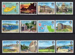ALDERNEY/AURIGNY ( POSTE ) : Y&T  N°  1/12  TIMBRES  NEUFS  AVEC  TRACE  DE  CHARNIERE . - Alderney