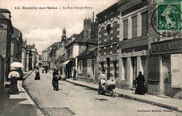 8058 - 2018  ROMILLY SUR SEINE   LA RUE GORNET BOIVIN - Romilly-sur-Seine
