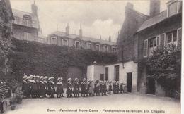 Caen/14/ Pensionnat Notre-Dame Pensionnaires Se Rendant à La Chapelle/ Réf:fm846 - Caen