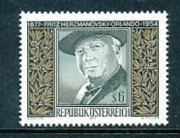 ÖSTERREICH Mi.Nr. 1547 100. Geburtstag Von Fritz Herzmanovsky-Orlando -MNH - 1945-.... 2. Republik