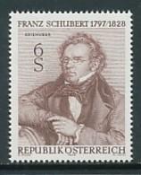 ÖSTERREICH Mi. Nr. 1590 150. Todestag Von Franz Schubert - MNH - 1945-.... 2. Republik
