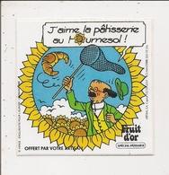 Autocollant - Fruit D'Or -  Professeur TOURNESOL - Stickers