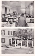 83 COMPS SUR ARTUBY, Grand Hotel Bain, Le Restaurant Un Coin De La Terrasse, Carte Dentelée, Glacée - Comps-sur-Artuby