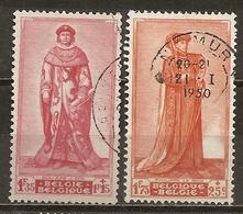 Belgique Belgium 1947/8 Kings Obl - België