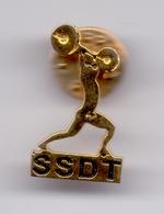 Pin Serbia Weightlifting Association Federation Badge - Weightlifting