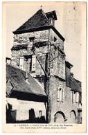 CALVADOS - Dépt N° 14 = LISIEUX 1924? = CPA  LA CIGOGNE N° 53 + PANNEAU RENAULT = VIEILLE TOUR Rue Banasson - Courseulles-sur-Mer