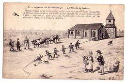 3380 - Cp Humoristiqu - Légendes De Saint-Saulge - La Corde De Laine - L'H. N°7 - - Humour