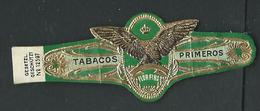 Bague De Cigare Tabacos Primeros Imperiales Flor Fina - Sigarenbandjes