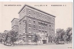 Carte 1920 THE SHERATON HOTEL / WASHINGTON - Etats-Unis