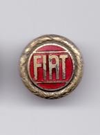 Enamel Pin Badge FIAT Car Automobilia - Weightlifting