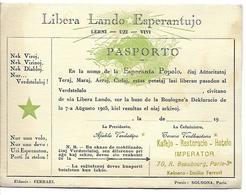 LIBERA - LANDO - ESPERANTUJO - Esperanto