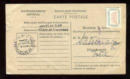 Carte De Ravitaillement De Montauban En 1946 - N136 - 1921-1960: Modern Period