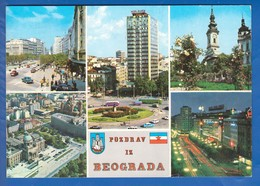 Serbien; Belgrad; Multibildkarte - Serbia