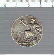 M 099 ( 2 Scans ) Brosche Femme - Vrouw - - Tokens & Medals