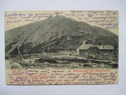 RIESENGEBIRGE  -  SCHENECKOPPE  MIT  RIESENBAUDE        PRECURSEUR DE 1901             TTB - Poland