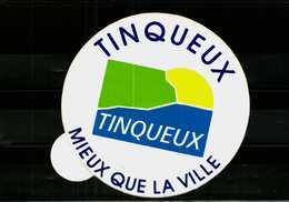 Autocollant -   TINQUEUX  51  Mieux Que La Ville - Autocollants