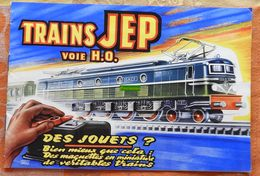 Catalogue JEP Bleu Voie HO Série 60, Dess Georges AROU, Avec Prix (tarif B8) : Trains JEP - 1957 - Scala HO