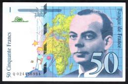 France 50 Francs St Exupery 1994 50 Francia - 1992-2000 Ultima Gama