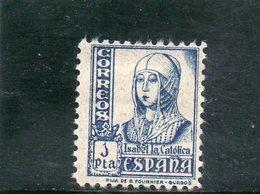 ESPAGNE 1937-40 * - 1931-50 Neufs