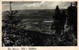 Ilmenau, Blick Vom Kickelhahn, 30er Jahre - Ilmenau