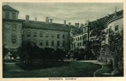 Meiningen, Schlosshof, 1929 Nach Johannisbad Versandt - Meiningen