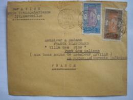 DAHOMEY - Lettre De OUIDA Du 07/03/1936 Pour La Rochelle Sans Cachet D'arrivée - Dahomey (1899-1944)