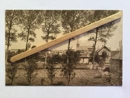 GENAPPE ,ENVIRONS DE GENAPPE -VIEUX-GENAPPE» L'EGLISE «Panorama (Édit Lutte - Stanga) Parfait état . - Genappe