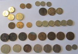 Grande-Bretagne / Royaume-Uni / Angleterre / Jersey - Vrac De 37 Monnaies 19 Et 20e Siècles Dont Britannia 1806 - Grande-Bretagne