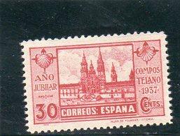 ESPAGNE 1937 * - 1931-50 Neufs