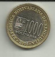 1000 Bolivares 2005 Venezuela - Venezuela