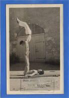 18 CHER - SAINT FLORENT Carte Photo De Deux Gymnastes - Saint-Florent-sur-Cher