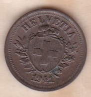 SUISSE. 1 RAPPEN 1941 B. BRONZE - Schweiz