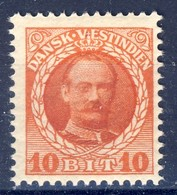 +D3175. Danish West Indies 1908. AFA 37. Michel 42. MNH(**) - Dinamarca (Antillas)