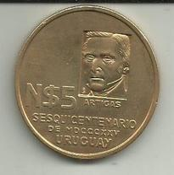 5 Pesos 1975ND Uruguay - Uruguay