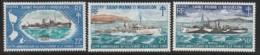 ST PIERRE  Et MIQUELON -  N°414/6 ** (1971) Navires De Guerre - Unused Stamps