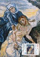 "40102 Vaticano,maximum 2018,painting Of Vincent Van Gogh Painting Of ""pieta"" (after Delacroix) - Arts"
