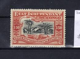 "COB 27 (*) With Variant Balasse V4: ""DEP Underlined"" (pos. 32) - Belgisch-Kongo"