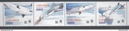 CAPE VERDE, 2016,MNH, WWF, SHARKS, 4v - Unused Stamps
