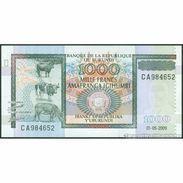 TWN - BURUNDI 46 - 1000 1.000 Francs 1.5.2009 Prefix CA UNC - Burundi