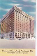 Carte 1920 THE SHERATON GIBSON HOTEL / CINCINNATI / OHIO - Cincinnati