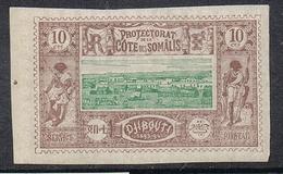 COTE DES SOMALIS N°10 N** - Côte Française Des Somalis (1894-1967)