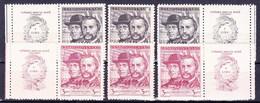 ** Tchécoslovaquie 1948 Mi 544-5+ Zf (Yv 472-3+ Vignettes), (MNH) - Tschechoslowakei/CSSR