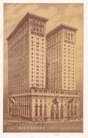 Carte 1920 THE BILTMORE HOTEL / NEW YORK - Cafés, Hôtels & Restaurants