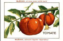 CHROMO  BLECAO ALIMENT VITAMINE A BASE DE BLEDINE TOMATE - Trade Cards