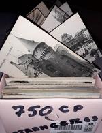 LOT De 750Cartes Postales ETRANGERES - Soit 5 Centimes La Carte - Cartes Postales