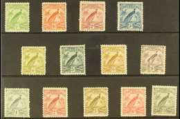 1931 Raggiana Bird Set, SG 150/62, Fine Mint (13 Stamps) For More Images, Please Visit Http://www.sandafayre.com/itemdet - Papua New Guinea